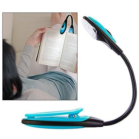 Lampe De Lecture Clip Flexible Led Voyage Lire Journal Amazon Fr
