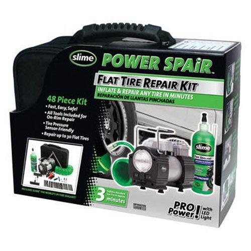 Slime 70004 Power Spair 48 Piece Tire Repair Kit by Slime