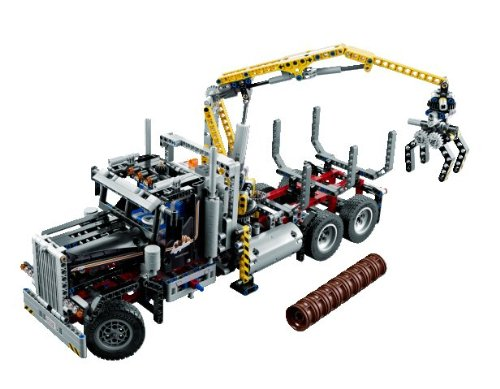 günstig kaufen LEGO Technic Holztransporter 9397