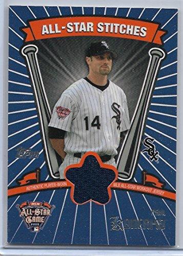 Paul Konerko Jersey - 2005 Topps Updates & Highlights Baseball Paul Konerko All-Star Workout Jersey