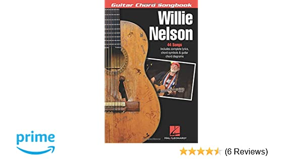 Amazon.com: Willie Nelson - Guitar Chord Songbook (0888680077136 ...