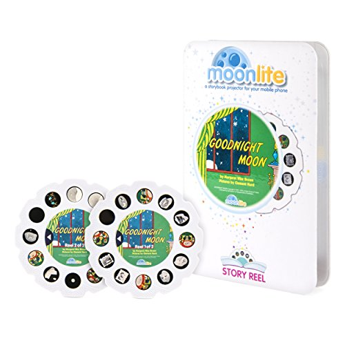 Moonlite Story Reel Goodnight Moon Learning and Exploration Set, Multicolor