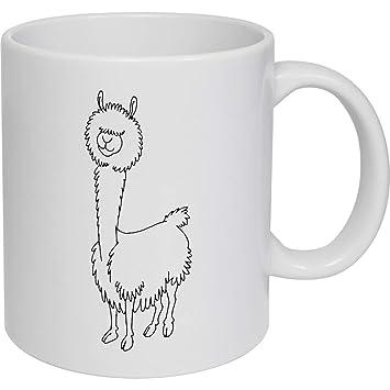 320ml Alpaca Taza de Ceramica (MG00015306)