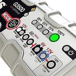 NOCO Genius G3500 6V/12V 3.5A UltraSafe Smart Batt