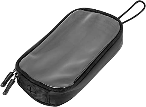 X Autohaux Universal 17 8 Cm Magnetischer Tankrucksack Handyhalter Tasche Gps Satteltasche Kunstleder Wasserdicht Für Motorrad Auto