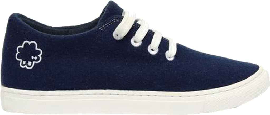 Baabuk Wool Sneaker - Women's B01NBJAEMA 43 D EU / 10 D US Men|Dark Blue/White