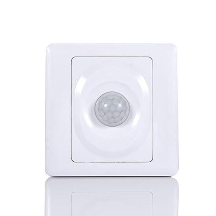 fosa automático Encendido/Apagado de Luces Sensor de Movimiento por Infrarrojos Cuerpo Humano Inducción +