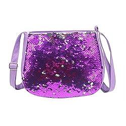 Kids Sequin Glitter Small Cross Body Bag