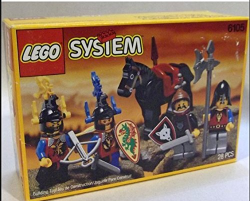 Lego System 6105 Medieval Knights Model 1993 (Lego System Knights)