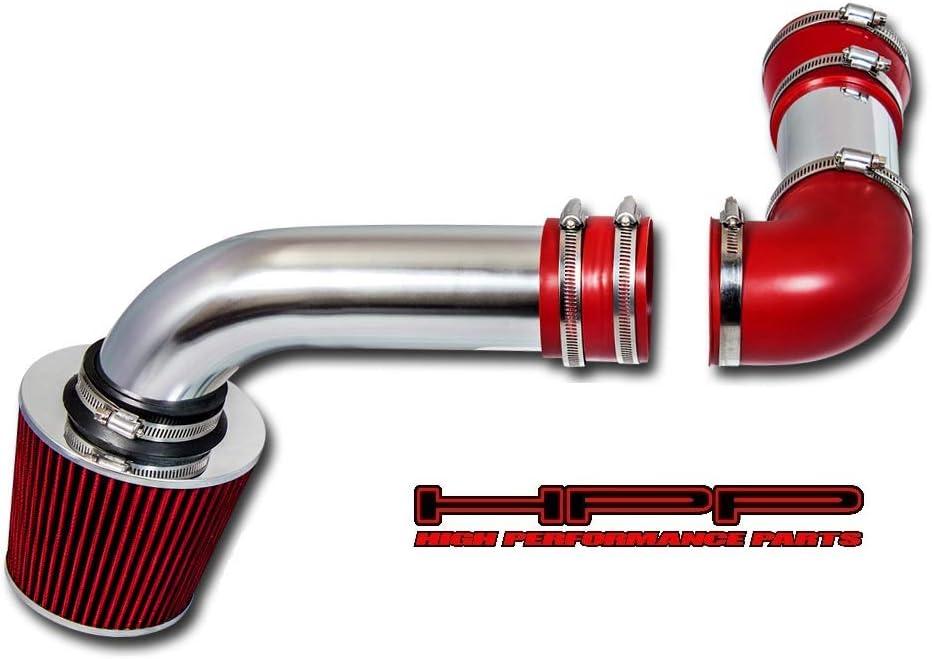 Included Air Filter #Cai-pt001r 88 89 Pontiac Firebird Formula//trans Am Cold Air Intake Red