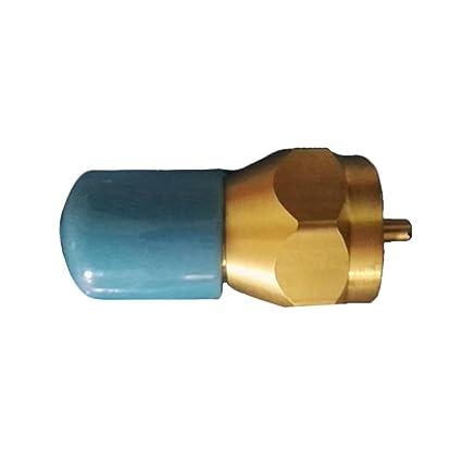 Desconocido Ragdoll50 Conector de Válvula de Gas Portátil Propane Recambio Adaptador LP Cilindro de Gas Tank