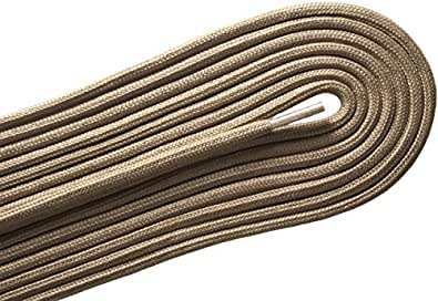 E-35 Fashion Casual / Athletic Round Beige 24 inch Shoelaces 2 Pair Pack