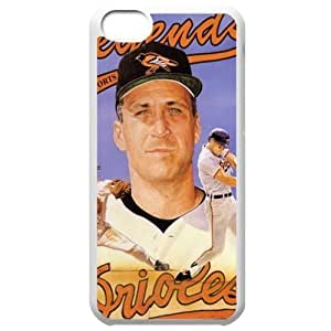 MLB Iphone 5C White Baltimore Orioles cell phone cases&Gift Holiday&Christmas Gifts NBGH6C9126117 by heywan