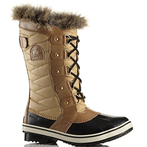 Damen Sorel Tofino II Mid Kalb wasserdicht Winter Walking Wanderschuhe Curry