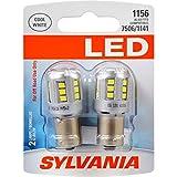 SYLVANIA 1156 White LED Bulb, (Contains 2 Bulbs)