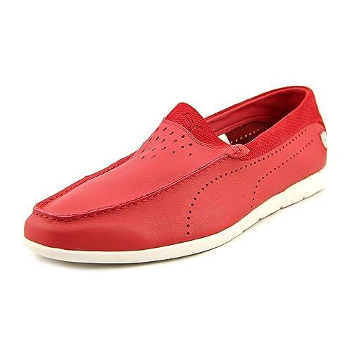 Puma Guida Moc SF Chase Hombre Piel Mocasines Zapatos Talla: Amazon.es: Zapatos y complementos