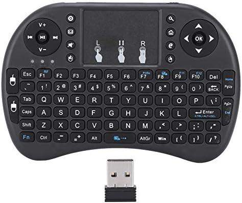 Air Mouse, 2.4G 92-Key Mini Teclado inalámbrico Control Remoto Air Flying Mouse Touchpad Juego Agarre Compatibilidad con Modo automático de Reposo y activación para Android para Smart TV PC: Amazon.es: Electrónica