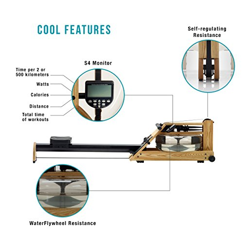 Water by WaterRower - A1 S4 Natural with Resistance