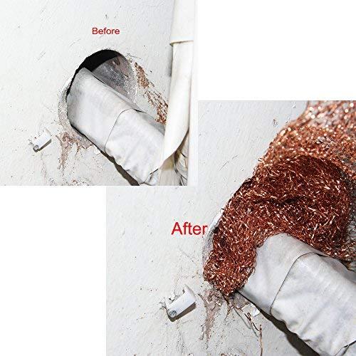 Gap Blocker,for Building Hole Haierc 5 x100FT 100/% Copper Mesh,Pure Copper Mesh Roll Prevent Bird-Nesting