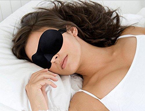 EveSplit Luxury Sleep Mask Light Blocking Eye Mask for Sleeping Deeper Super Silky Super-Soft Sleep Mask With Free Ear Plugs Ultra Lightweight & Comfortable, Adjustable Strap to Fit All Head Sizes