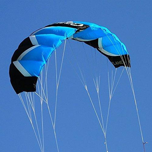 Qunlon Q2 4-Line Traction Stunt Kites Power Kites Sports Beach Kites by Unknown
