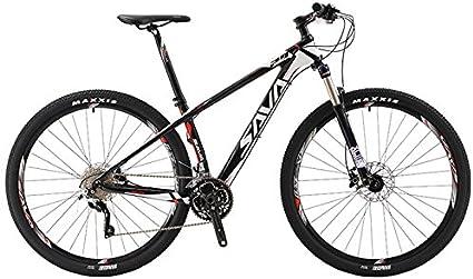 """SAVA DECK300 27.5""""/29"""" Bicicleta de Montaña de Fibra de Carbono 30-Velocidad Shimano M610 Hard Tail Bicicleta SR SUNTOUR Horquilla de Suspensión Mountain Bike Maxxis Neumáticos"""