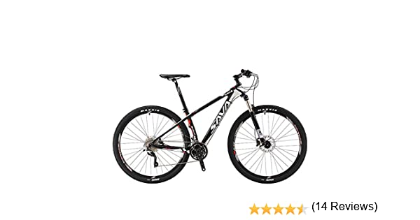 Bicicleta de montaña de SAVA DECK300, de fibra de carbono, 30 ...