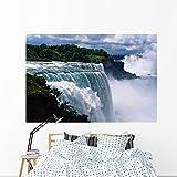 Niagara Falls Wall Mural by Wallmonkeys Peel and Stick Graphic (72 in W x 48 in H) WM140272