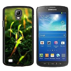 TECHCASE---Cubierta de la caja de protección para la piel dura ** Samsung Galaxy S4 Active i9295 ** --Naturaleza Playa Retro