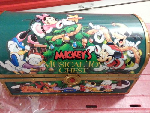Galleon   Vintage Santa's MICKEY'S MUSICAL TOY CHEST