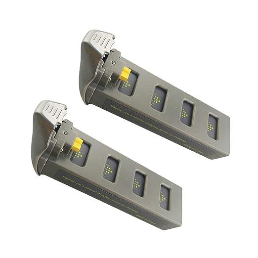 2 baterías de litio de 7,4 V 1800 mAh para dron MJX B2SE D80 ...