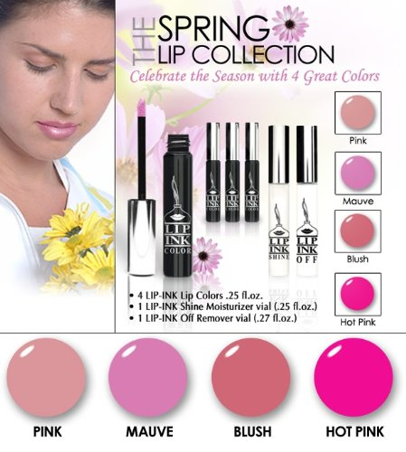 LIP INK Smearproof Waterproof Natural Lip Stain, Spring Collection by LIP INK
