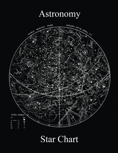 - Astronomy Star Map Chart Dot Grid 5mm spacing Notebook Journal (8.5 x 11 Large)