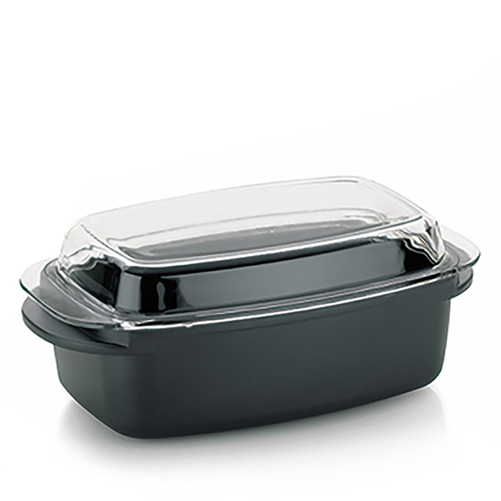 Kela Kerros 15152 Roasting Pan 5 L Rectangular with Greblon Stonehenge Non-Stick Coating by Kela (Image #1)