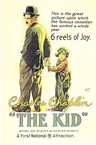 (11x17) The Kid Movie Charlie Chaplin Poster Print