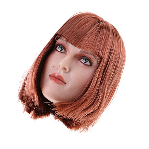 MagiDeal 1:6 Female Head Sculpt For 12''inch Hot Toys Phicen Figure Hobbies Doll D