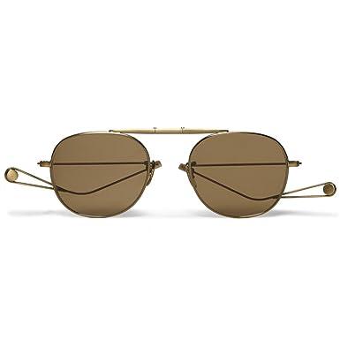 51039dd4231 Van Buren Folding Aviator-Style Metal Sunglasses  Amazon.co.uk  Clothing