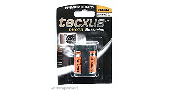 Batería 6 V al litio (6 V battery Lithium) 2 CR5 para cámara ...