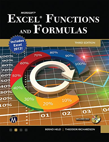 Microsoft  Excel Functions and Formulas 3E Pdf