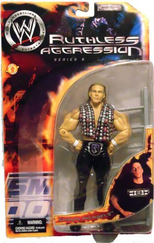 WWE Jakks Pacific Wrestling Action Figure Ruthless Aggression Series 5 Shawn Michaels