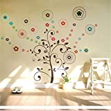 Lucky Tree Wall Stickers Art Decor Removable Vinyl Wall Background Home Decor / . : . Lucky Tree Wall Stickers Art Decor Removable Vinyl Wall Background Home Decor . . Specification: . M