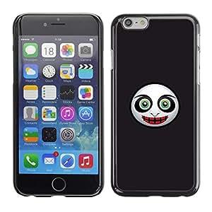 Be Good Phone Accessory // Dura Cáscara cubierta Protectora Caso Carcasa Funda de Protección para Apple Iphone 6 // Evil Mask Face