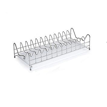 GUANG-MING-Storage rack L-G-M Rejilla de Almacenamiento, Bandeja de Acero Inoxidable 304