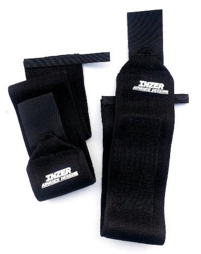 Inzer Wrist Wraps - True Black 24
