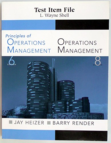 principles of operations management 8th edition Register free to download files | file name : title principles of operations management 8th edition pdf ten book, hundreds.