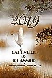 2019  CALENDAR &  PLANNER  & Holidays Days: Australia, Canada, UK, USA