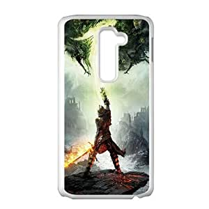 LG G2 Cell Phone Case White_dragon age inquisition_002 Yfyok