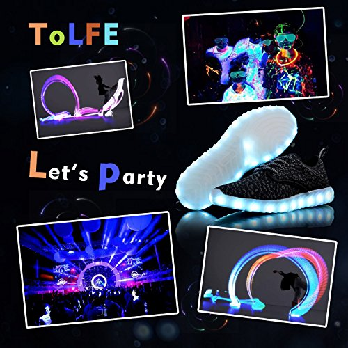 Tolfe Led Kids Shoes