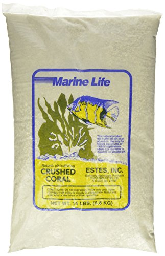 Estes Gravel Products AES51510 Este Crushed Coral for Aquarium, 15-Pound