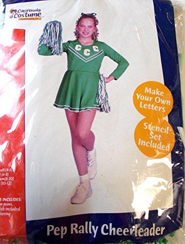 California Costumes Pep Rally Cheerleader Child Costume, ...